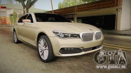 BMW 7-series G12 Long 2016 für GTA San Andreas