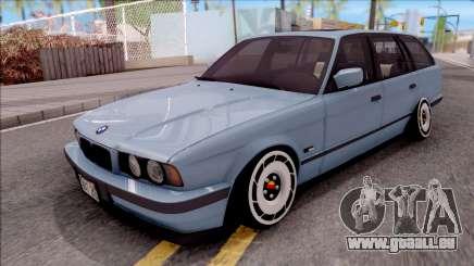 BMW M5 E34 Touring Slammed 1995 pour GTA San Andreas