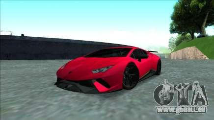 Lamborghini Huracan Performante 2018 pour GTA San Andreas
