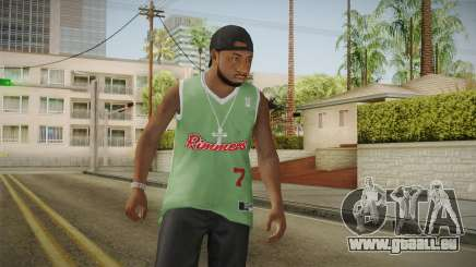 Grove Street Families Remastered Skin 3 pour GTA San Andreas
