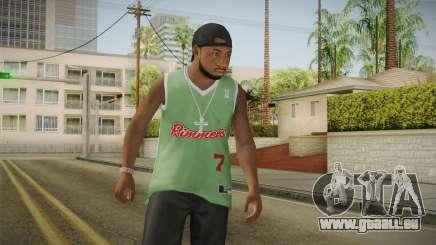 Grove Street Families Remastered Skin 3 für GTA San Andreas