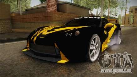 NFS Carbon - Chevrolet Corvette Z06 v2 pour GTA San Andreas