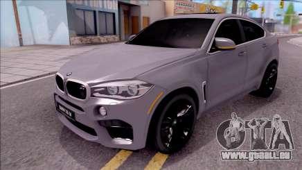 BMW X6M F86 2016 für GTA San Andreas