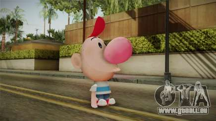 Cartoon Network Punch Time - Billy Skin pour GTA San Andreas