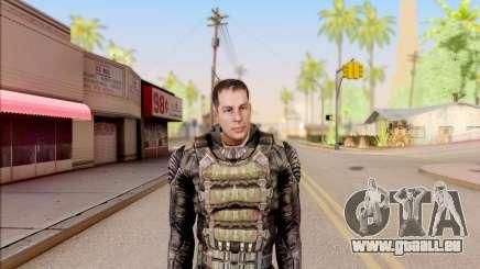 Degtyarev in eine Rüstung aus S. T. A. L. K. E. R. für GTA San Andreas