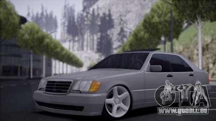 Mercedes-Benz W140 silver für GTA San Andreas