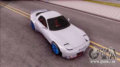 Mazda RX-7 Rocket Bunny für GTA San Andreas rechten Ansicht