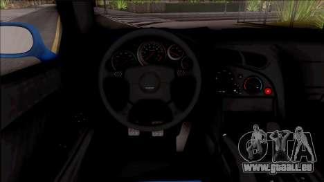 Mazda RX-7 1997 für GTA San Andreas Innenansicht