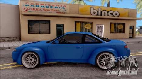 Nissan 200SX Rocket Bunny v2 für GTA San Andreas linke Ansicht