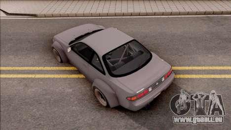 Nissan 200SX Rocket Bunny v3 pour GTA San Andreas vue arrière