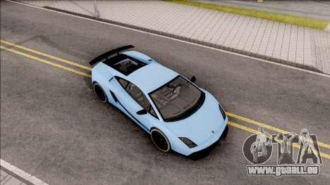 Lamborghini Gallardo Superleggera LP 570-4 pour GTA San Andreas vue de droite