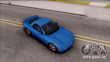 Mazda RX-7 1997 für GTA San Andreas rechten Ansicht
