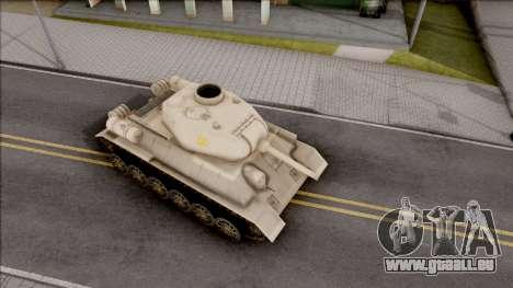 T-34 Z pour GTA San Andreas vue de droite