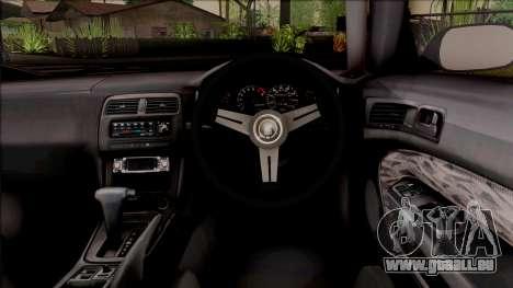 Nissan 200SX Rocket Bunny v3 pour GTA San Andreas vue intérieure