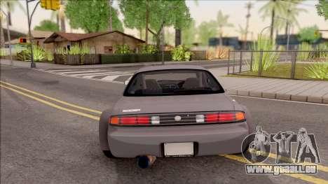 Nissan 200SX Rocket Bunny v3 pour GTA San Andreas sur la vue arrière gauche