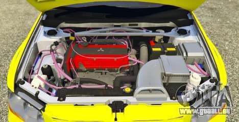 GTA 5 Mitsubishi Lancer Evolution VII 1.1 hinten links Seitenansicht