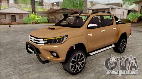 Toyota Hilux 2017 pour GTA San Andreas