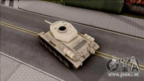 T-34 Z pour GTA San Andreas vue arrière