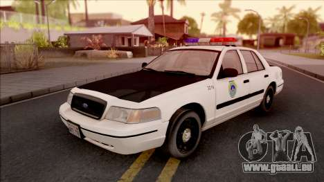 Ford Crown Victoria 2004 Des Moines PD pour GTA San Andreas