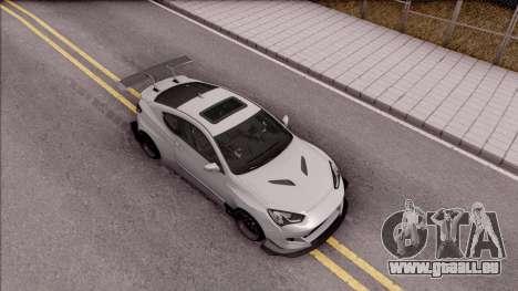 Hyundai Genesis Coupe 3.8 2013 Rocket Bunny für GTA San Andreas rechten Ansicht