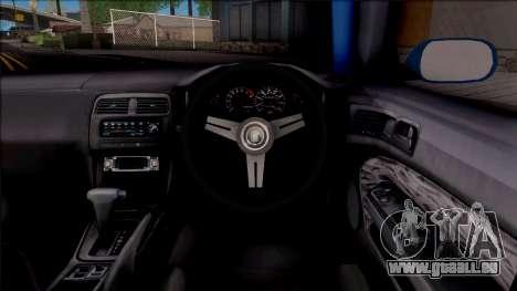 Nissan 200SX Rocket Bunny v2 für GTA San Andreas Innenansicht
