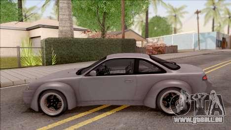 Nissan 200SX Rocket Bunny v3 pour GTA San Andreas laissé vue