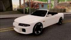 Nissan Skyline R33 Cabrio für GTA San Andreas