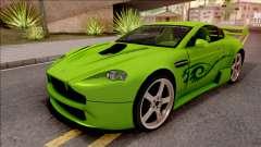 Aston Martin V8 Vantage Tuning Sin Sonido