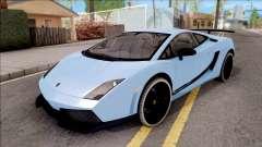 Lamborghini Gallardo Superleggera LP 570-4 pour GTA San Andreas