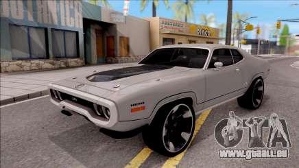 Plymouth GTX 1972 v2 pour GTA San Andreas