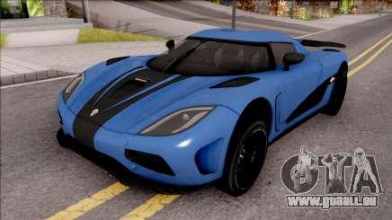Koenigsegg Agera R Origin pour GTA San Andreas