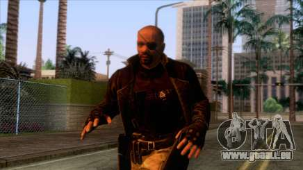 Marvel Heroes - Nick Fury Ultimate pour GTA San Andreas