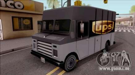 UPS Van pour GTA San Andreas