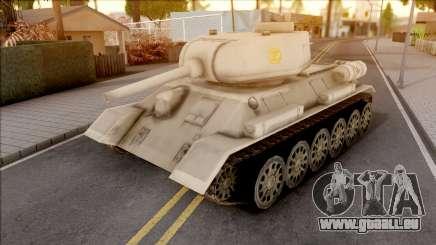 T-34 Z pour GTA San Andreas