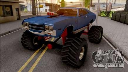 Chevrolet Chevelle SS 1972 Monster Truck pour GTA San Andreas