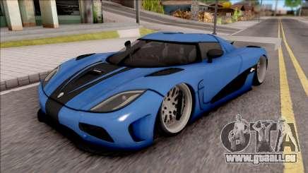 Koenigsegg Agera R Slammed für GTA San Andreas