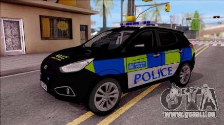 Hyundai IX35 2012 U.K Police pour GTA San Andreas