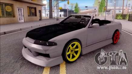 Nissan Skyline R33 Cabrio Drift Monster Energy für GTA San Andreas