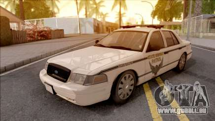 Ford Crown Victoria 2010 OS Highway Patrol pour GTA San Andreas