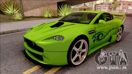 Aston Martin V8 Vantage Tuning Sin Sonido für GTA San Andreas