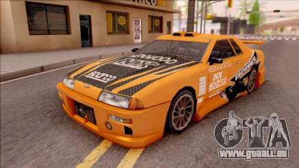Eddie NFS Underground Paintjob For Elegy pour GTA San Andreas