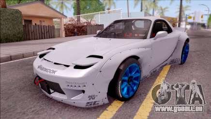 Mazda RX-7 Rocket Bunny für GTA San Andreas
