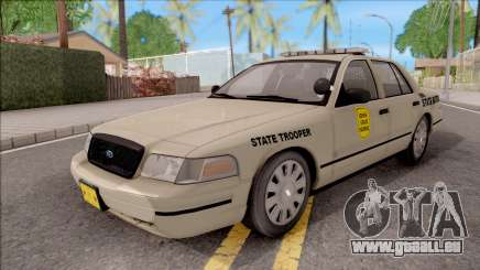 Ford Crown Victoria 2005 Iowa State Patrol pour GTA San Andreas