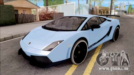 Lamborghini Gallardo Superleggera LP 570-4 pour GTA San Andreas