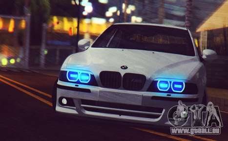 BMW M5 E39 (2017 re-styling) für GTA San Andreas linke Ansicht