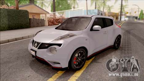 Nissan Juke Nismo RS 2014 v2 pour GTA San Andreas