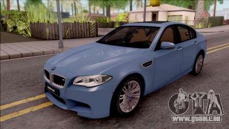 BMW M5 F10 Stock v1 pour GTA San Andreas