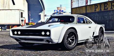 Dodge Charger Fast & Furious 8 für GTA 5