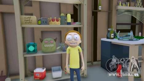 GTA 5 Morty Smith (Rick and Morty) [Add-On] 1.1 zweite Screenshot