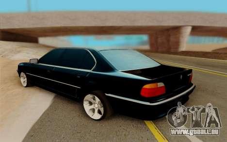 BMW 750 für GTA San Andreas rechten Ansicht